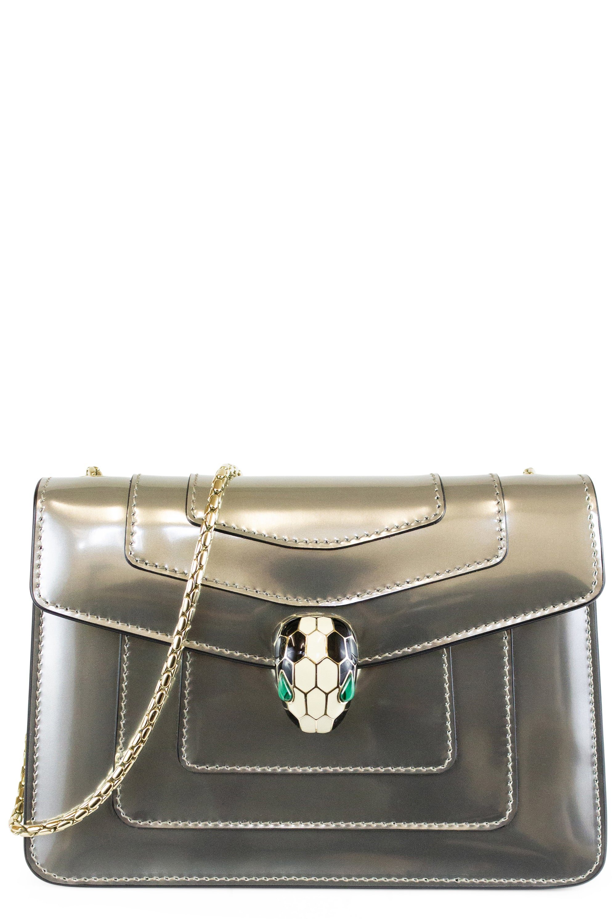 Bvlgari Flap Cover Bag Serpenti Forever