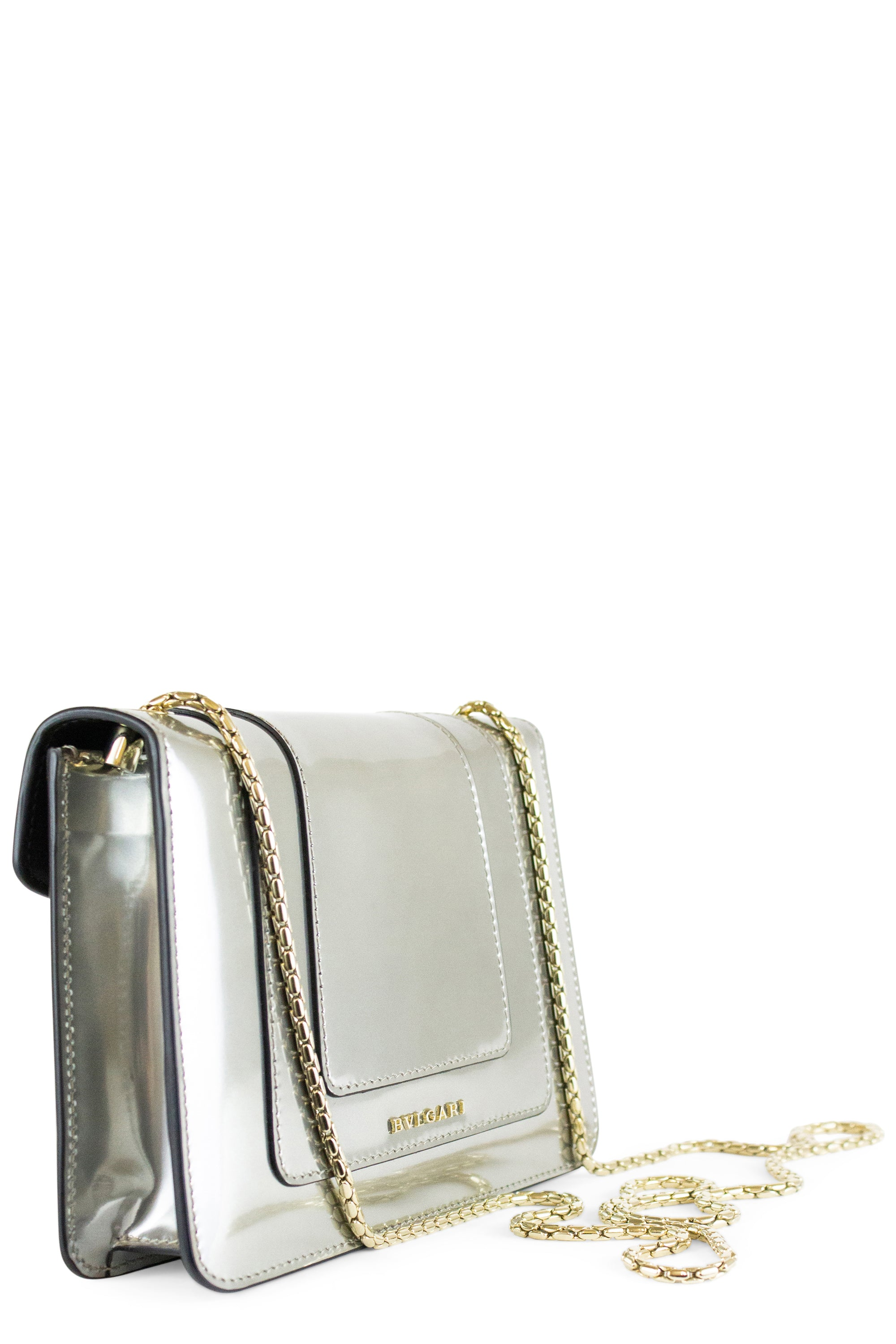 BVLGARI Flap Cover Bag Serpenti