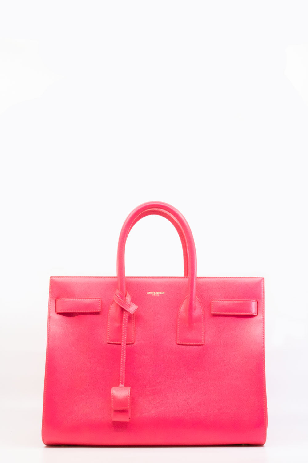 Sant Laurent Sac de Jour in neon pink.