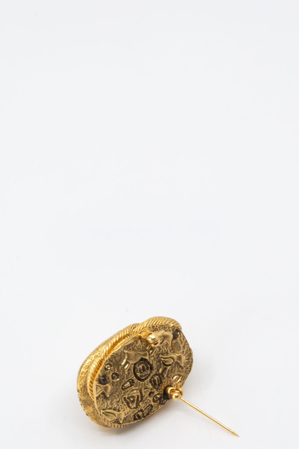 CHANEL Scarab Brooch