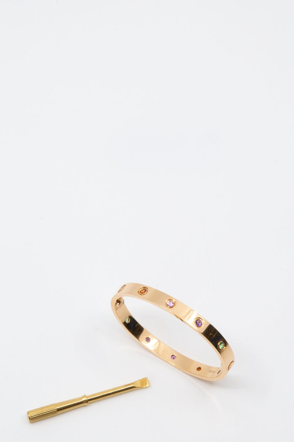 CARTIER Love Bracelet Rosé Gold