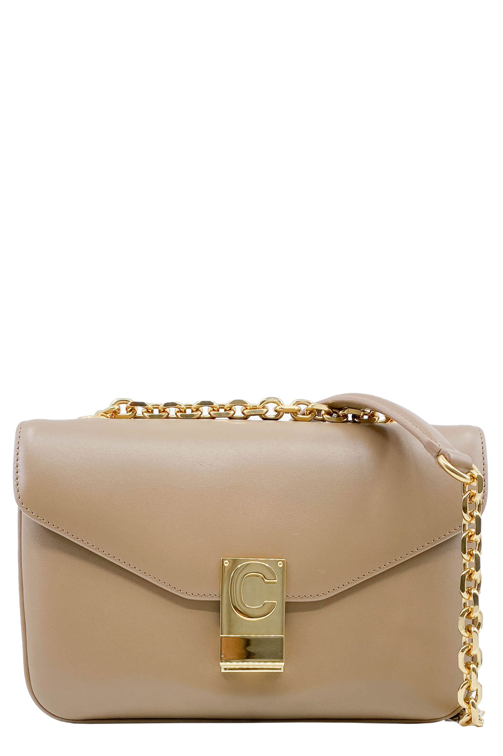 CELINE Bag 'Sac C' Medium Taupe