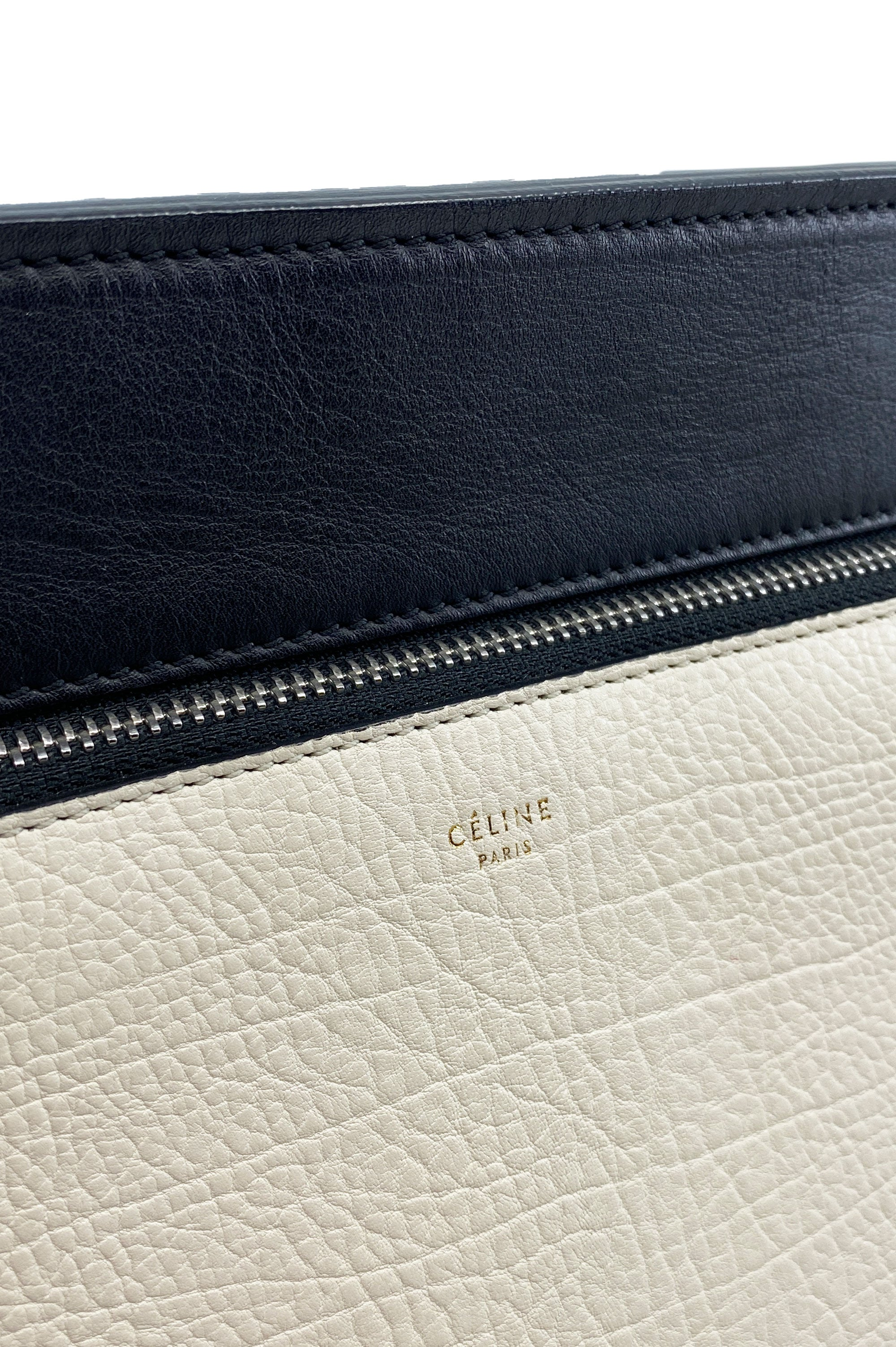 CELINE Edge Bag Black & White