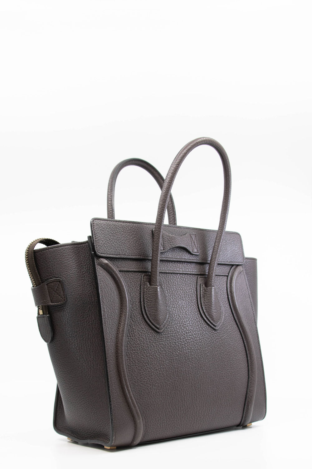 CÉLINE Micro Luggage Brown