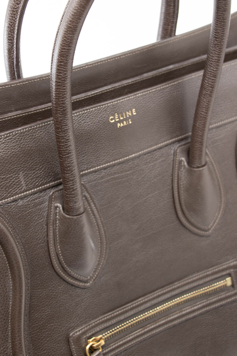 CÉLINE Mini Luggage Brown
