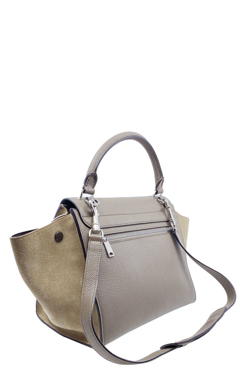 CÉLINE  Small Trapeze Taupe