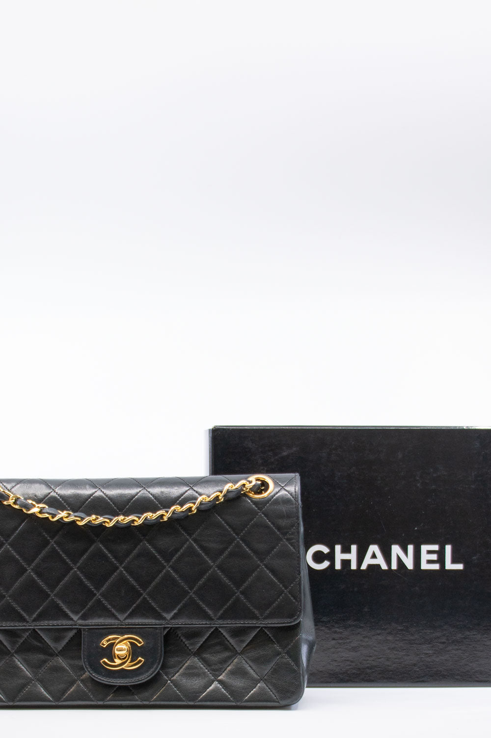 CHANEL Vintage Coco Double Flap Bag