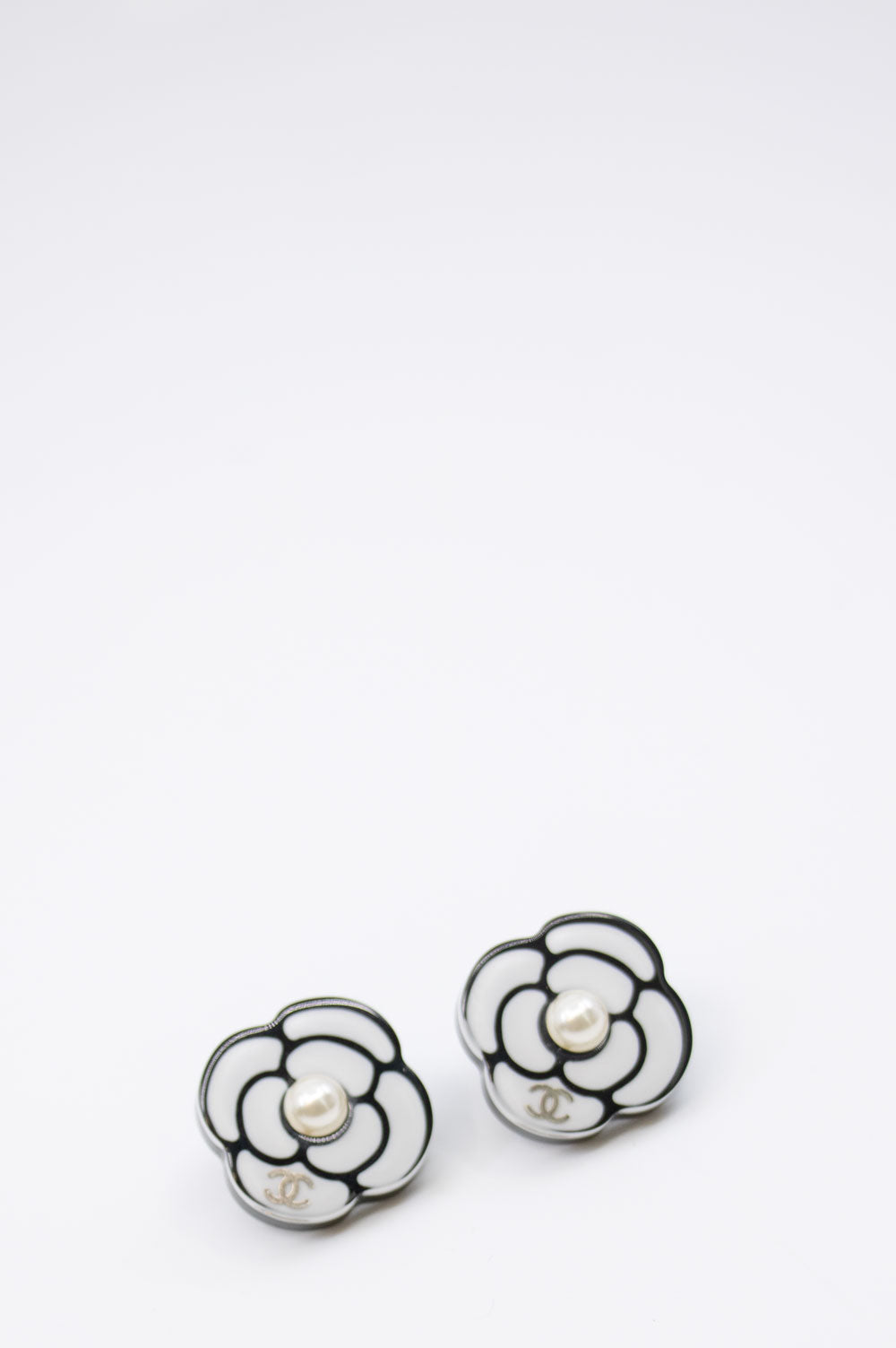 CHANEL Acrylic Earrings
