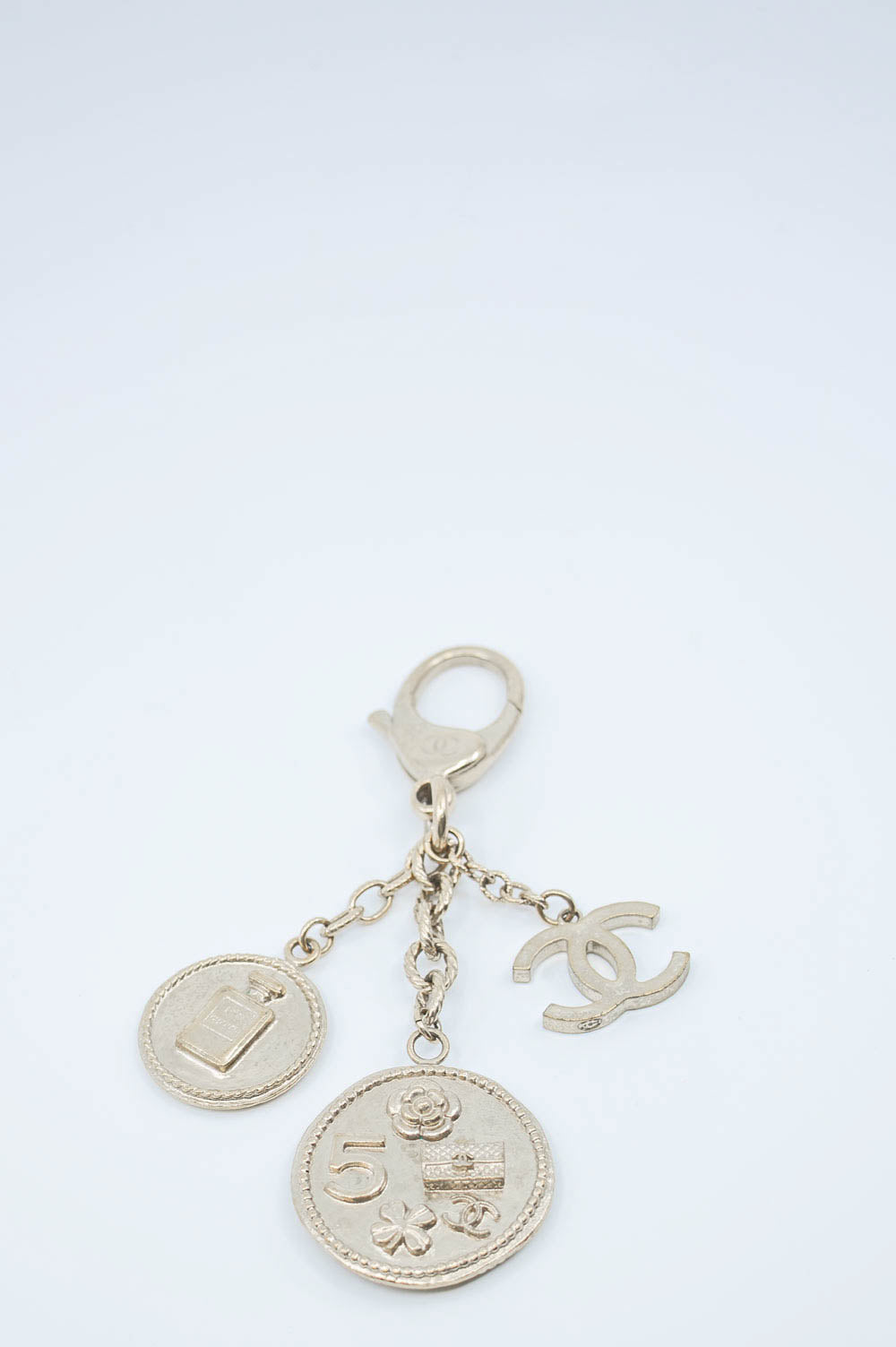 CHANEL Keyring/Bag Charm