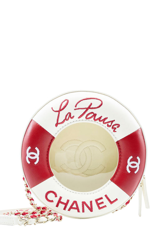 CHANEL Lifesaver Coco Round Bag Frontansicht