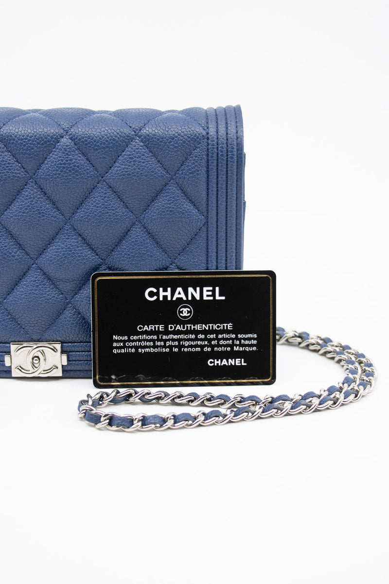CHANEL Boy Wallet On Chain