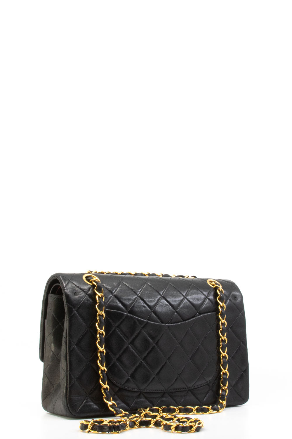 CHANEL Vintage Double Flap Bag Medium