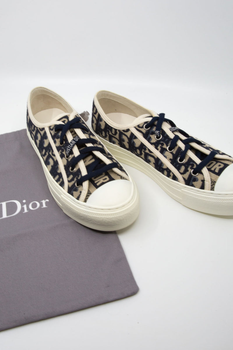 CHRISTIAN DIOR Oblique Sneakers