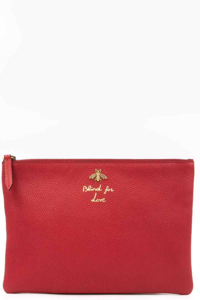 Gucci Blind for Love Pochette in Rot.