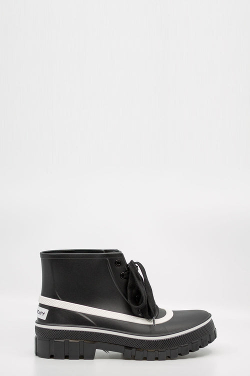 GIVENCHY Rubber Boots Black