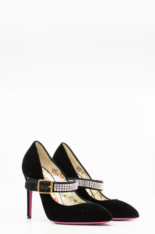 GUCCI Sylvie Pumps Velvet