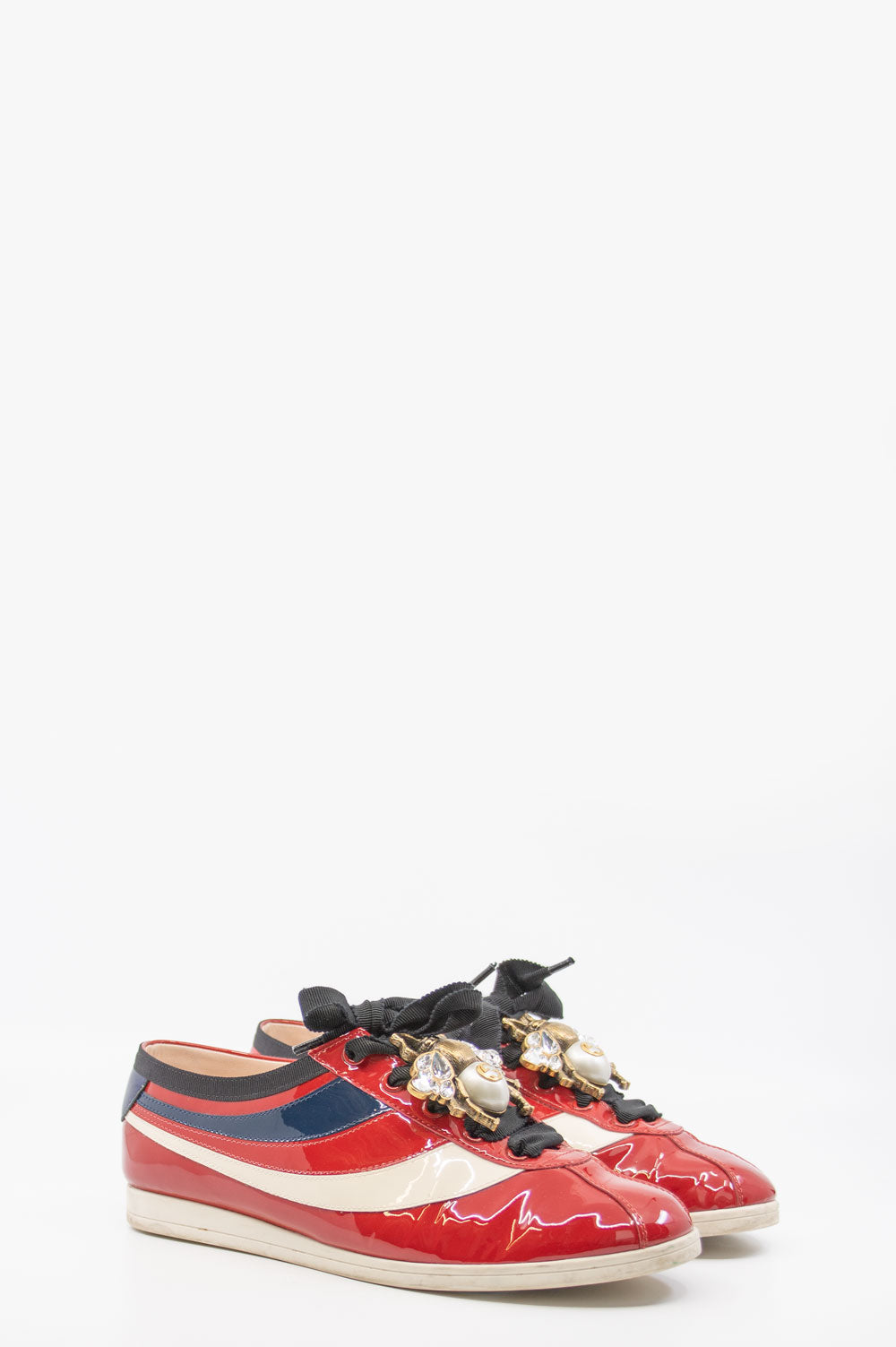 GUCCI Bowling Sneakers