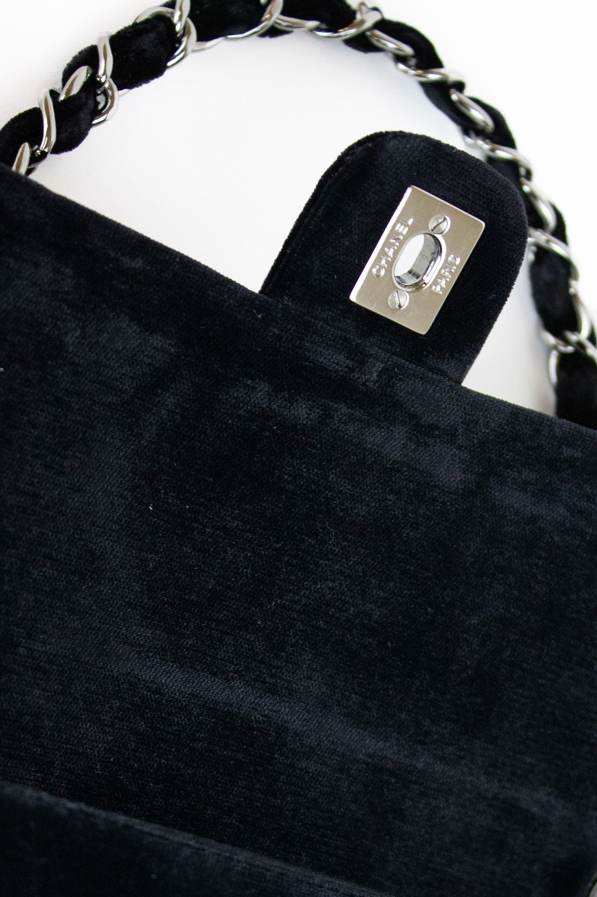 CHANEL Special Edition Velvet Flap Bag