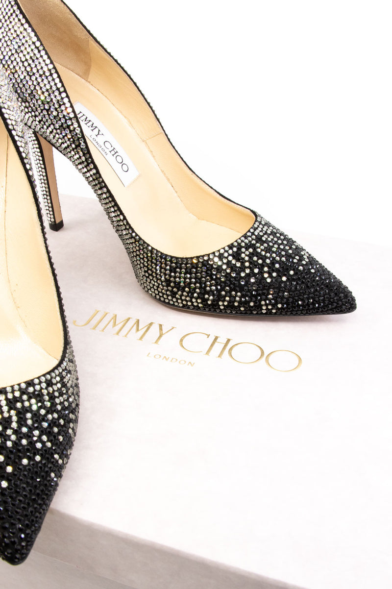 JIMMY CHOO Crystal Pumps