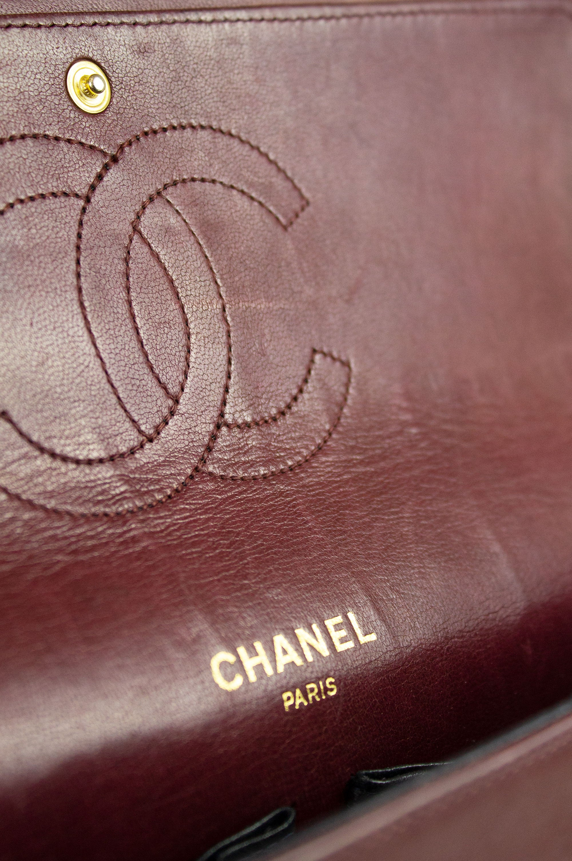 CHANEL Vintage Double Flap Tasche