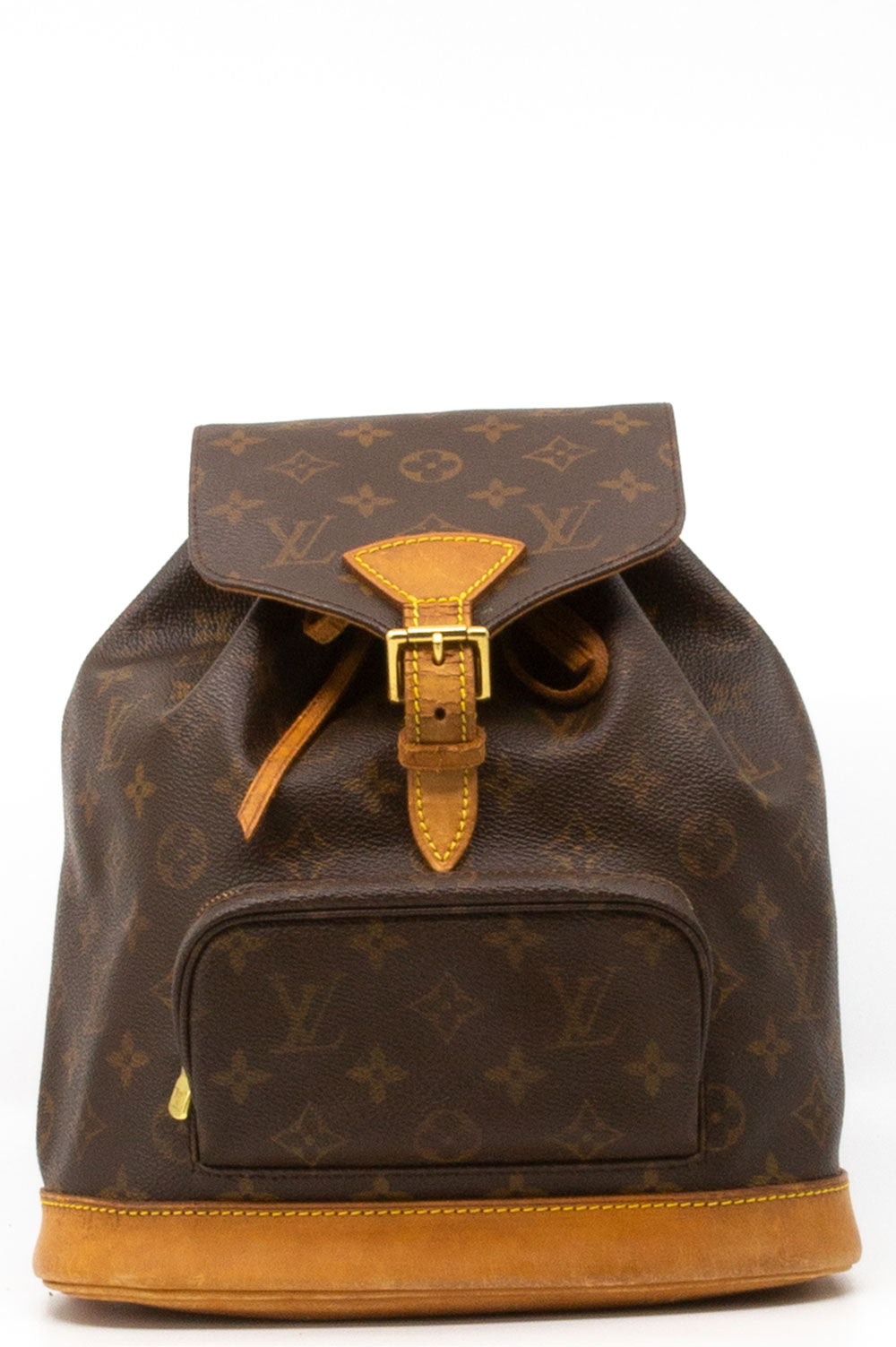 Louis Vuitton Montsouris Rucksack in braunem Louis Vuitton Monogram.