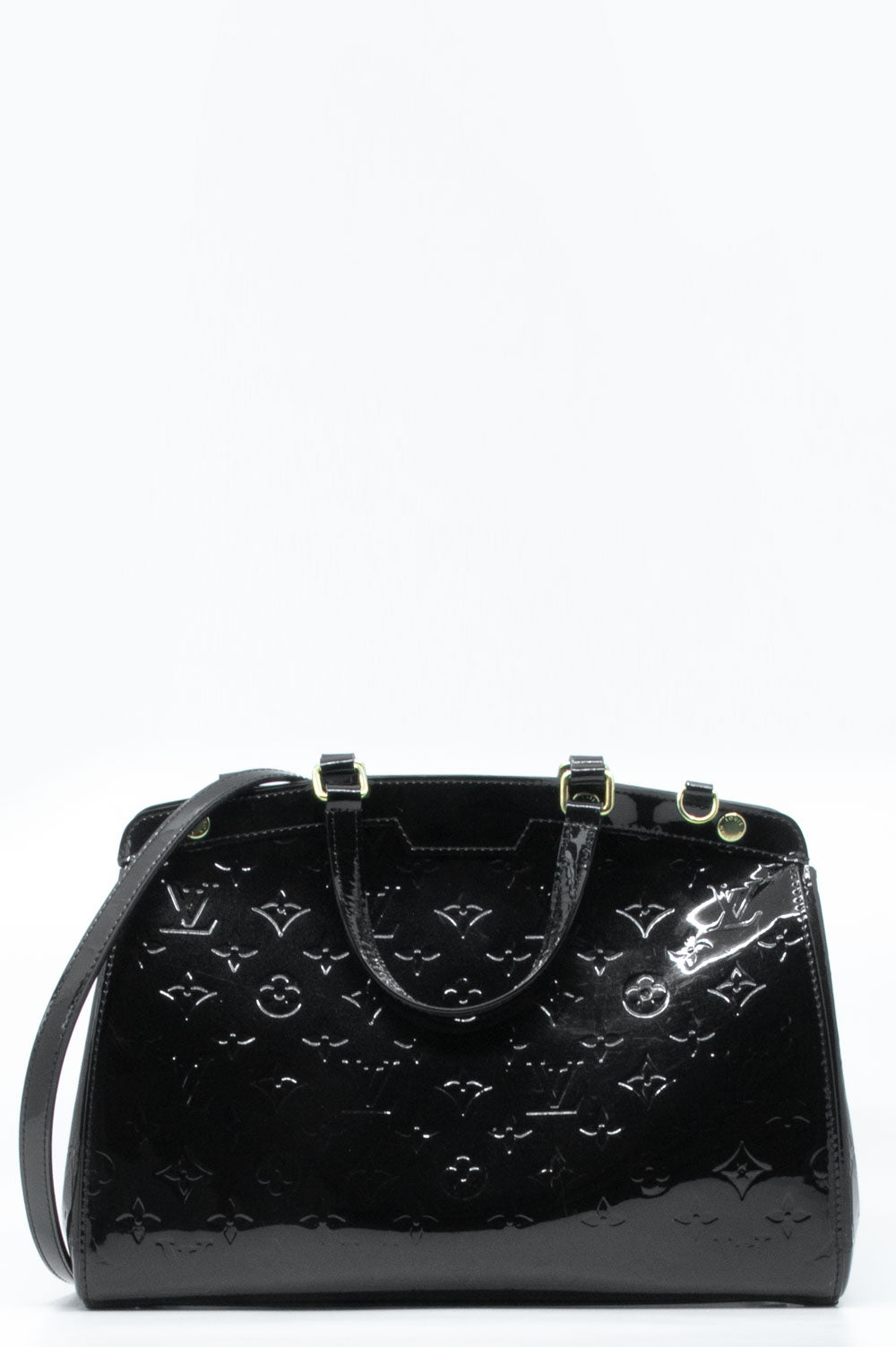 Louis Vuitton Brea in schwarz.