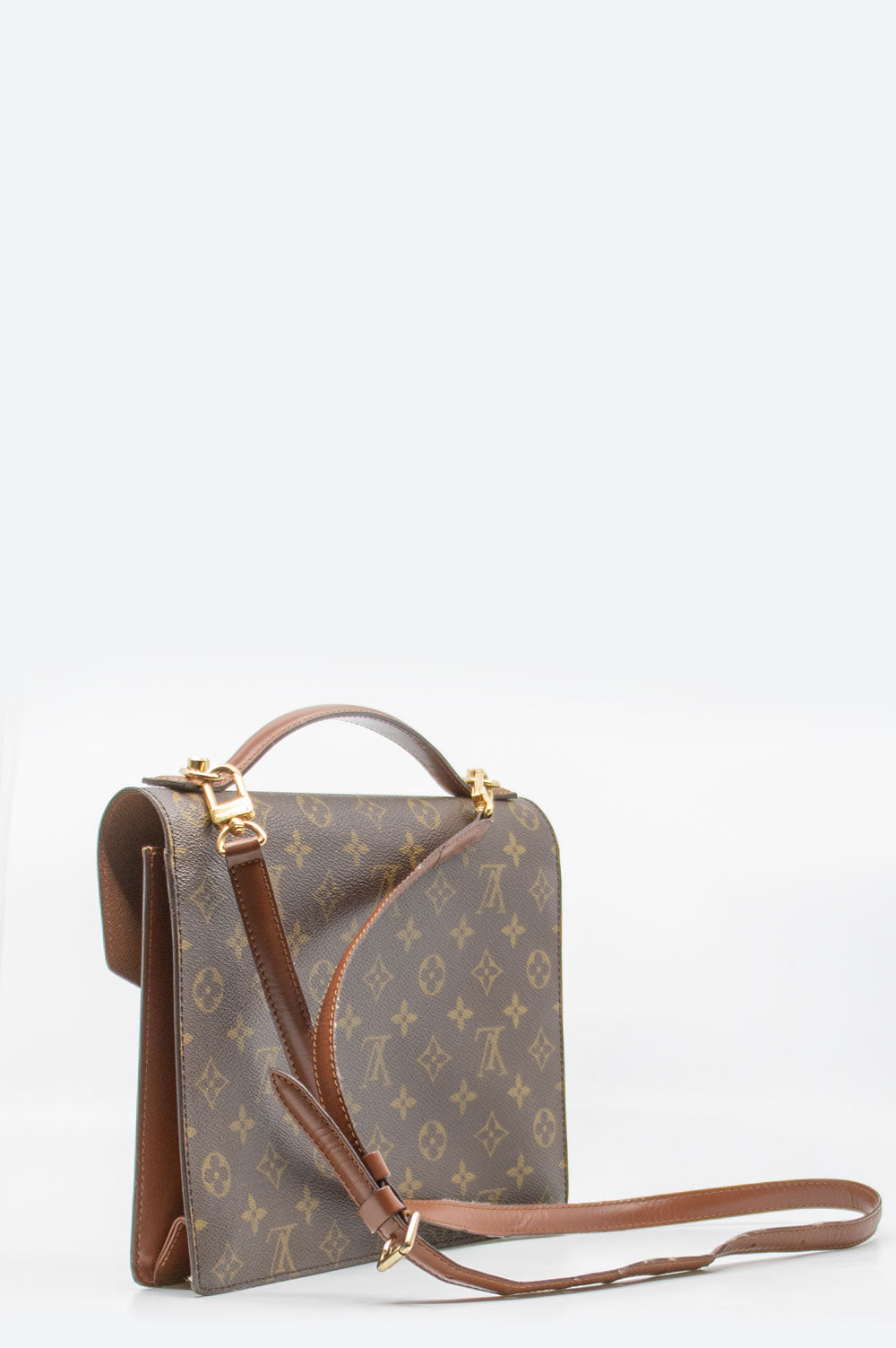 LOUIS VUITTON Vintage Monceau 28 Bag