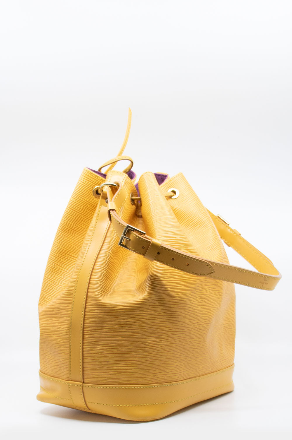 LOUIS VUITTON Grand Sac Noé Tassil Yellow
