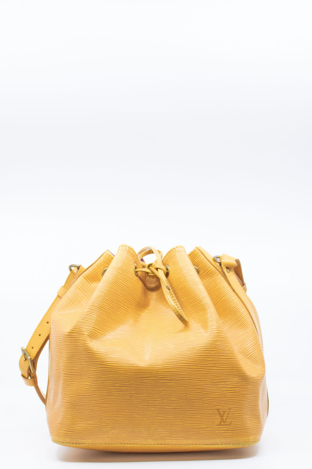 LOUIS VUITTON Petit Sac Noé Tassil Yellow