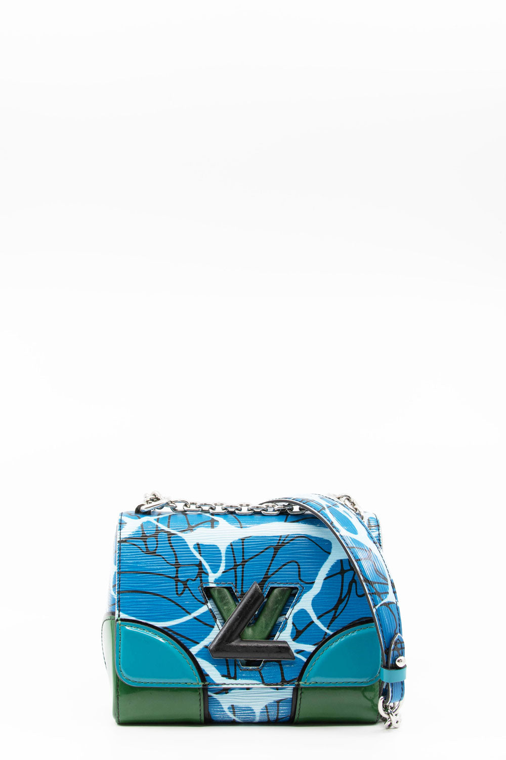 LOUIS VUITTON Twist PM Aqua Print