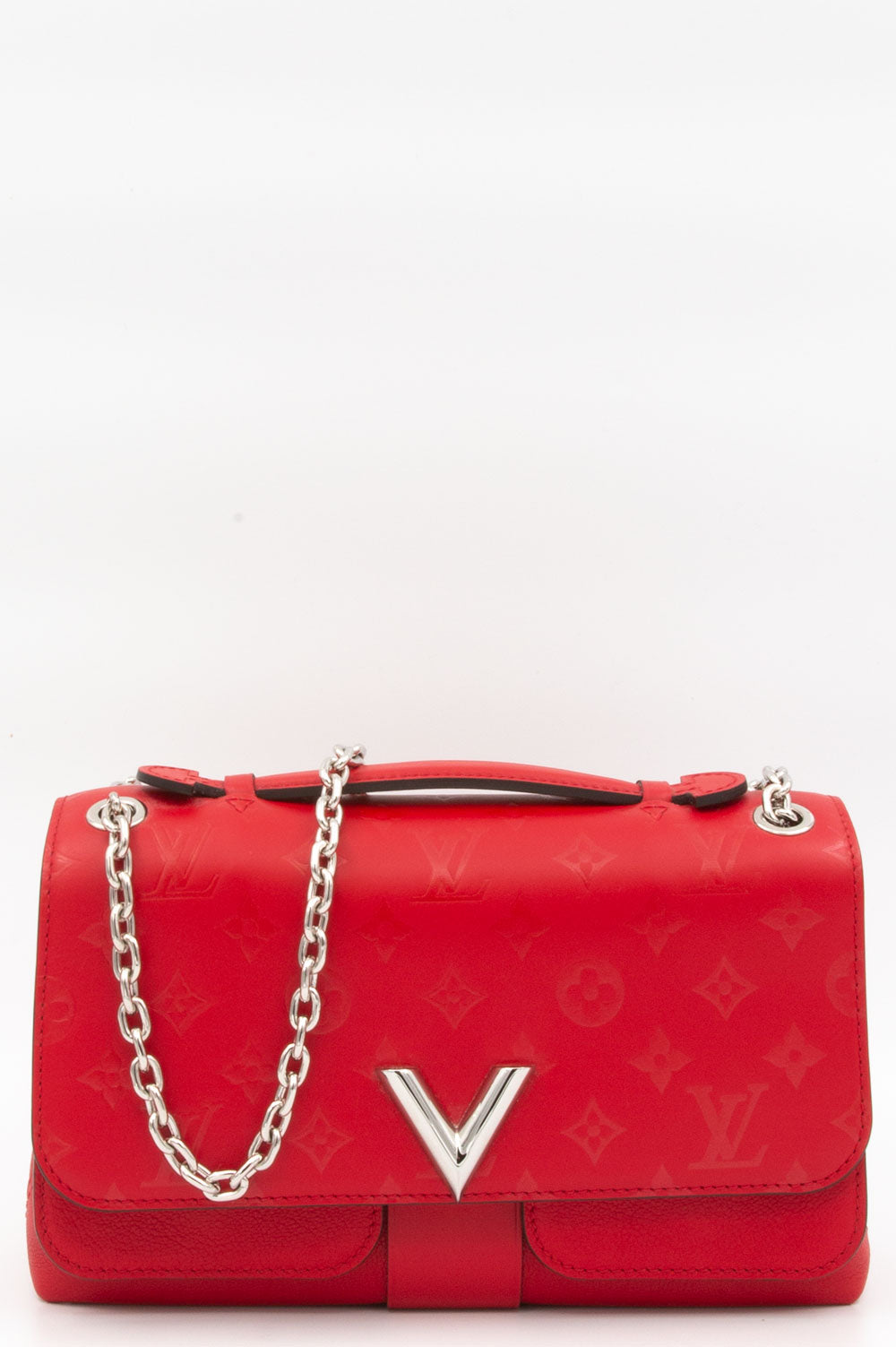 Louis Vuitton Very Chain Bag in der Farbe Rubis.