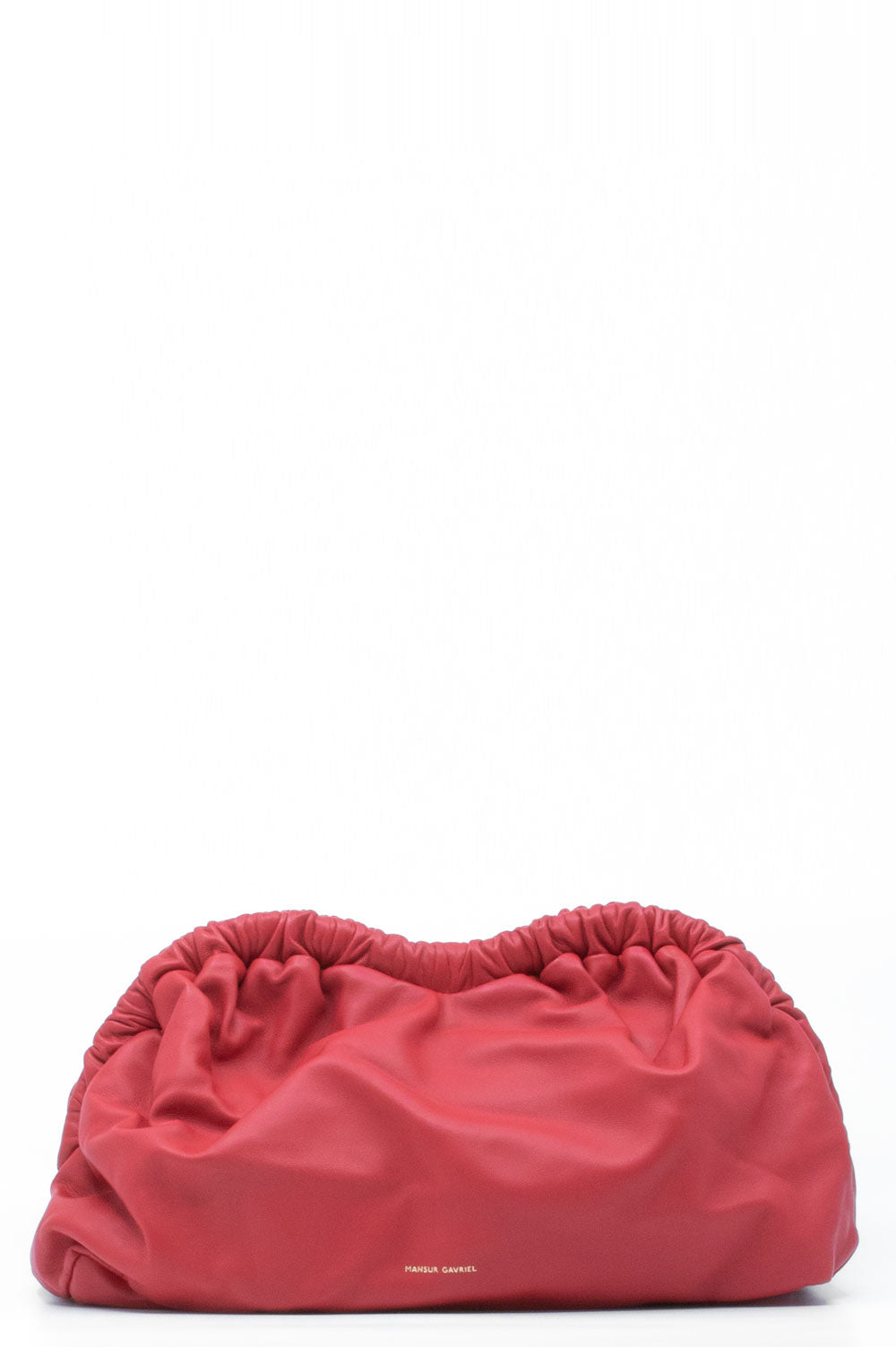 Mansur Gavriel Clutch in rot.
