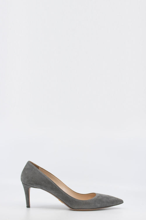 PRADA Pumps Suede Grey