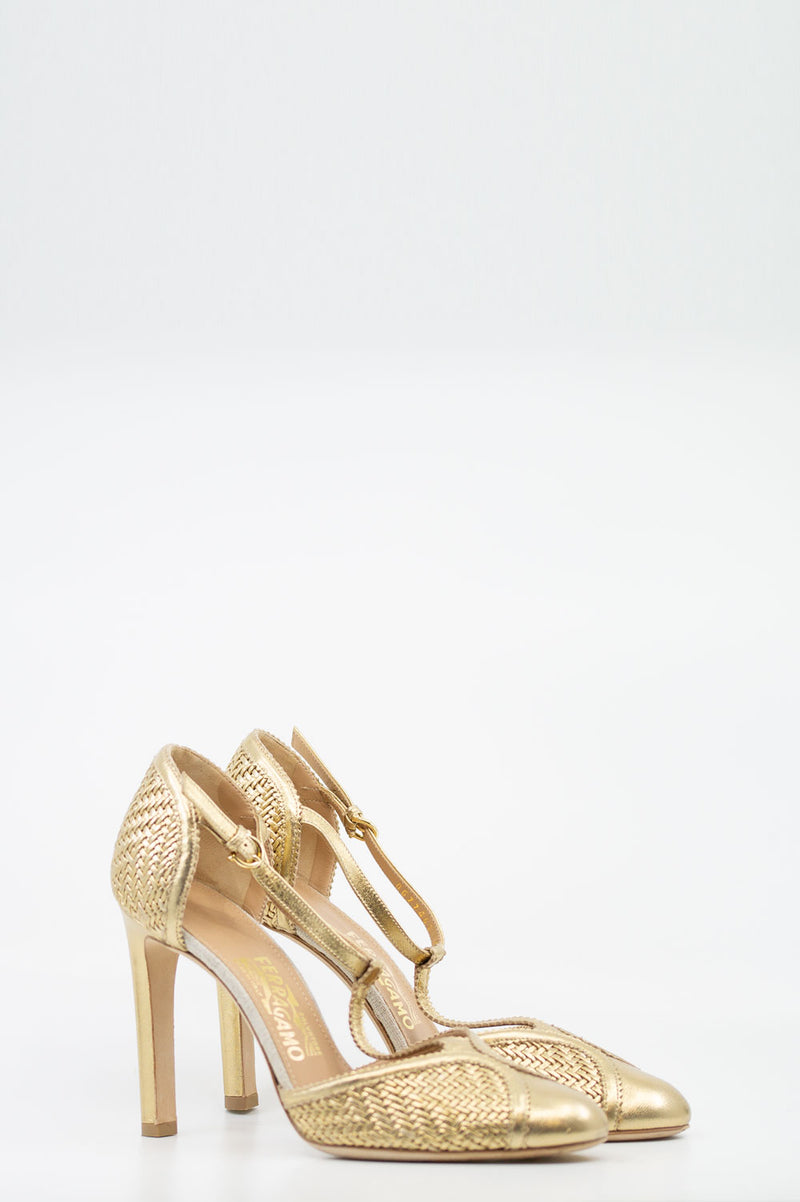 SALVATORE FERRAGAMO Mary Jane Pumps