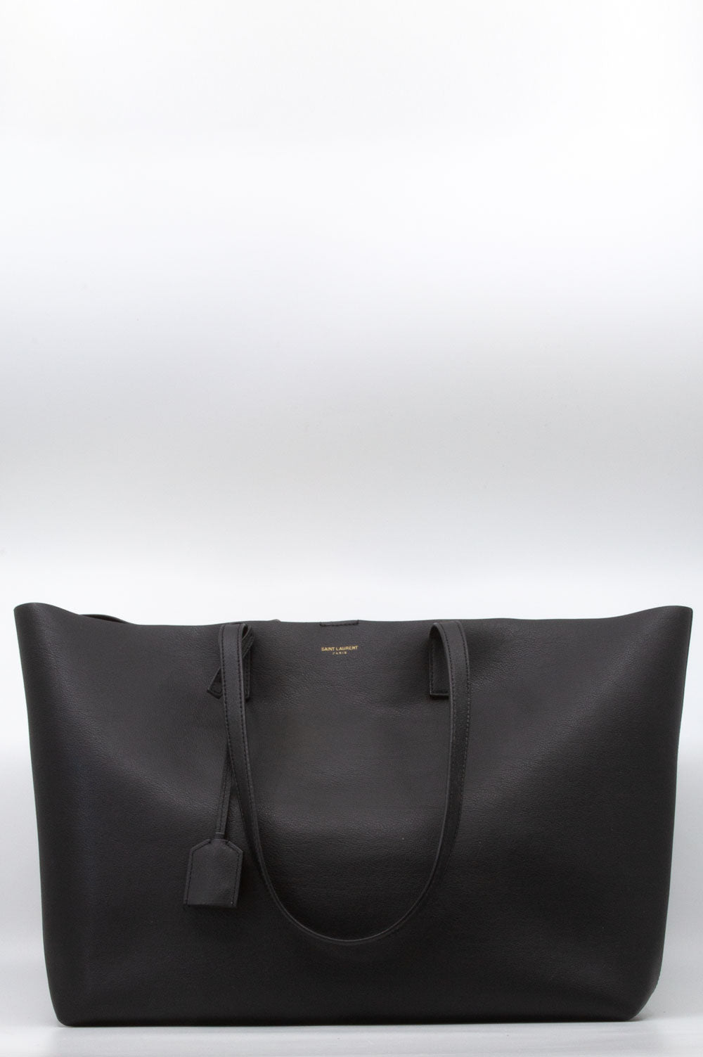 Saint Laurent East West Shopper in Schwarz.