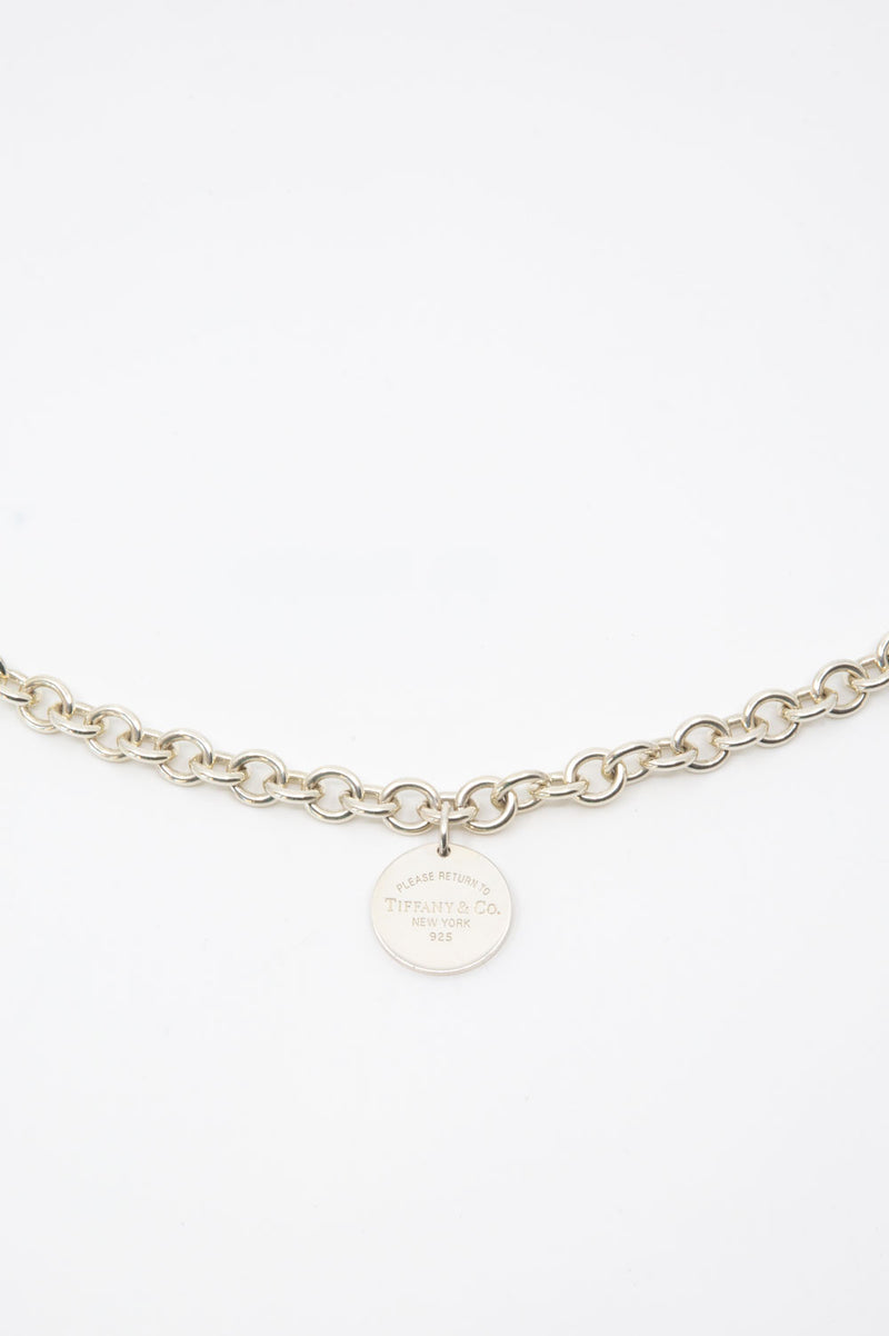 Tiffany's & Co. Please Return To Kette in Silber.