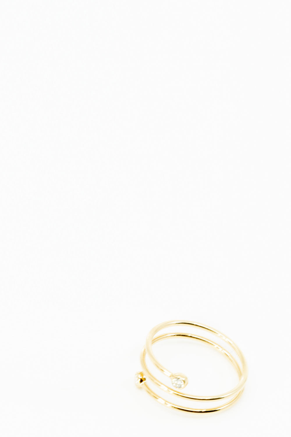TIFFANY & Co. Hoop 3 Row Ring
