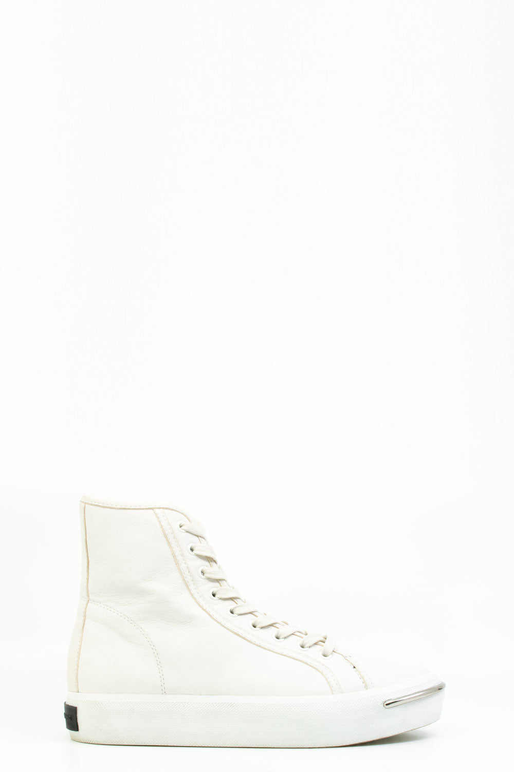 Alexander Wang High-Top Turnschuhe in weiss.