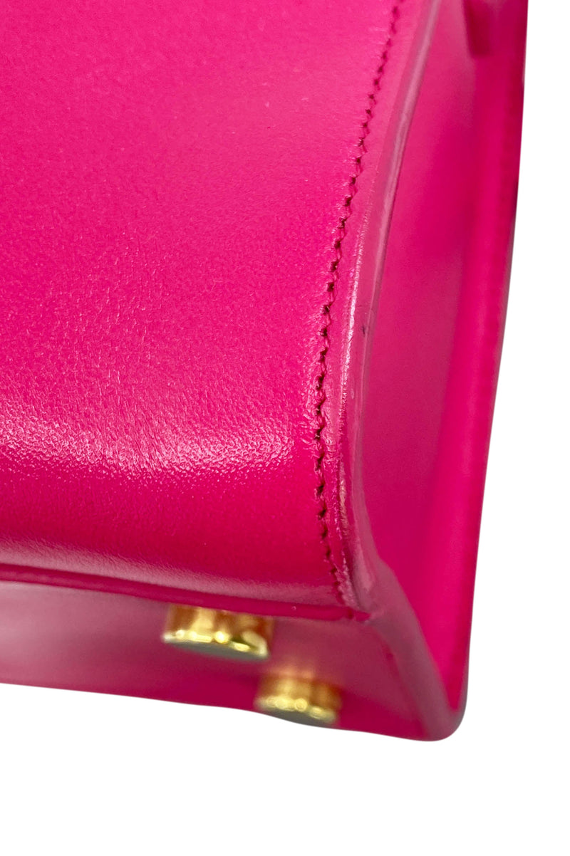 YVES SAINT LAURENT Monogram Cabas Bag Pink