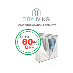 Up to 60% OFF on Home Organization Products at TidyLiving