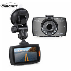 "CARCHET Auto DVR Dashboard Camera - 2.7"" Full HD 1080P Cat DVR Dashboard Camera Video Recorder TFT 170 Degree Lens LED Night Vision"
