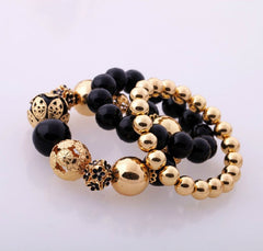 Custom Style Accessory Vintage Graceful  Stretch Bead Bracelet For Women