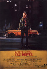 """Taxi Driver"" Movie Poster 24x36 inches"