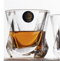Drinkware Essentials Multi-style Square Crystal Whiskey Glass