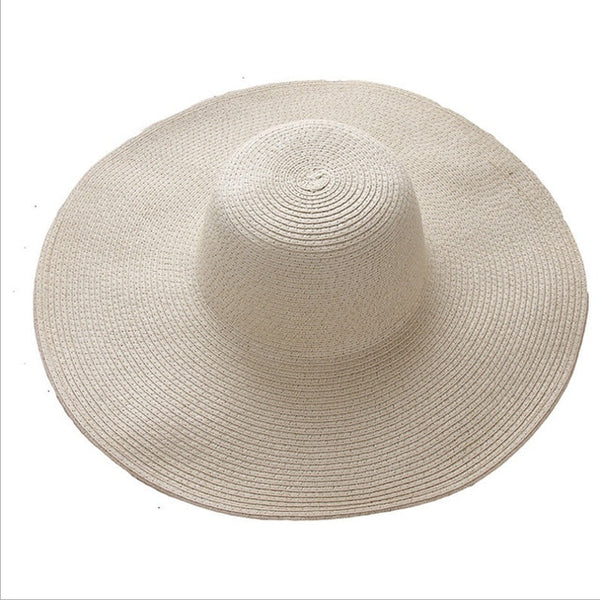 Large Beach Hat (Different Colors Available) - Plug Fashions