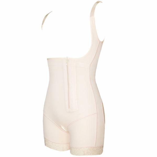 Black or Nude Plus Size Body Shaper S-6XL - Plug Fashions
