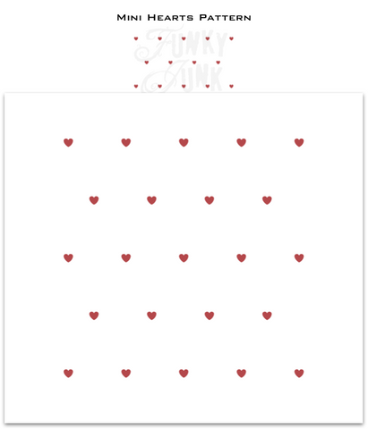 Mini Hearts Pattern