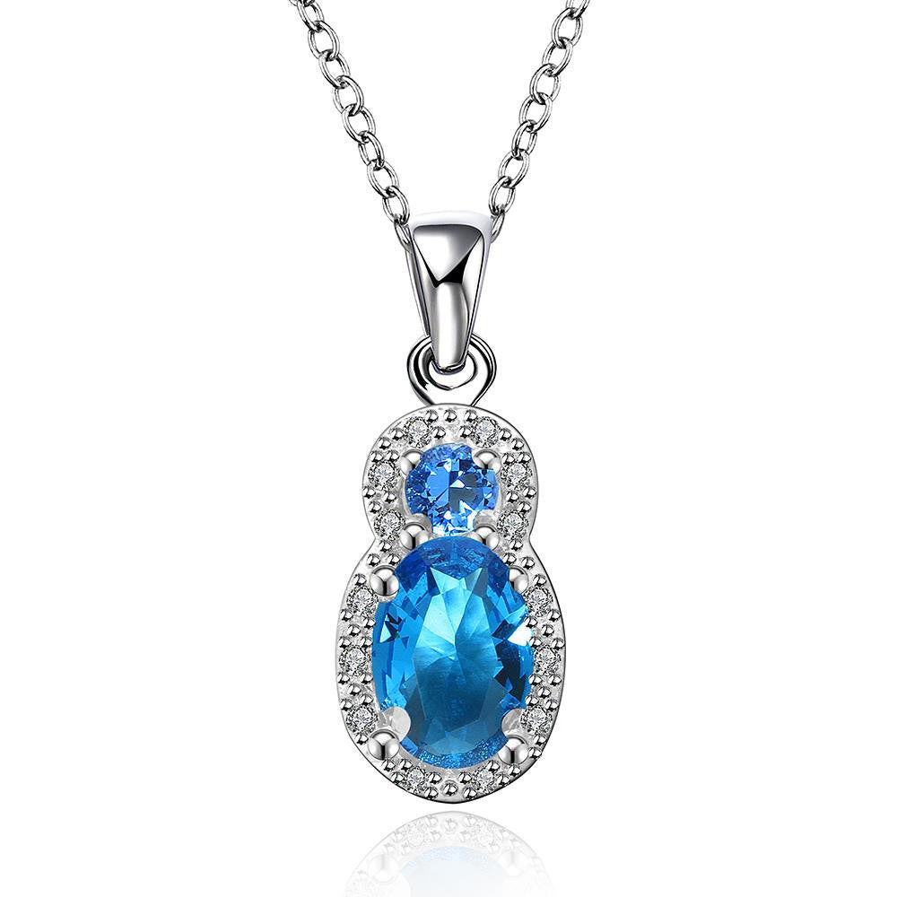 Beautiful Mock Sapphire Necklace