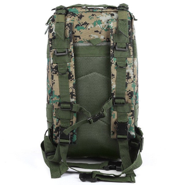 3P Military Tactical Backpack Hunting Assault Camouflage Bag Men Oxford Sport Bag 30L for Camping Hunting Hiking Trekking