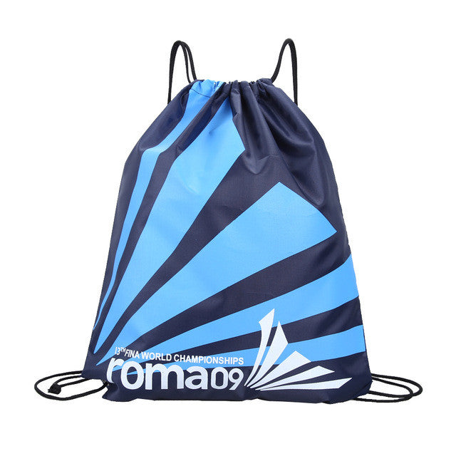 Swimming Waterproof Double Layer Drawstring Bag Backpacks Shoulder Bag Water Sports Travel Portable Bag For Stuff US#V